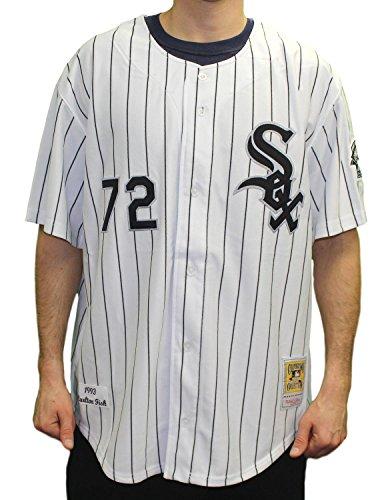 Carlton Fisk Chicago White Sox Mitchell & Ness MLB Authentic 1993 Jersey (Sox White Fisk Carlton)