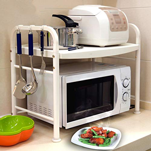 WYJW Cocina Microondas Horno Estante Estante Organizador