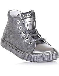 IOLKO - Zapatillas de bádminton para niña black-us12.5 / eu45 / uk10.5 / cn47