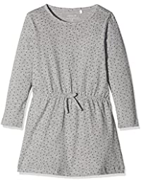 NAME IT Baby-Mädchen Kleid Nitvelvet Ls Aop Dress Mini