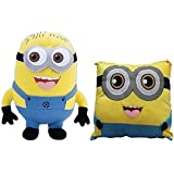 Combo Of Minion Soft Toy And Minion Pillow Stuffed Plus For Kid/ Birthday Gift For Kid 18-inch -45cm