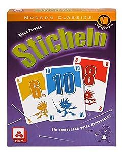 Nürnberger-Spielkarten-Verlag - Juego de cartas, 3 a 5 jugadores (8819908014) (versión en alemán)