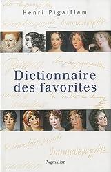 Dictionnaire des favorites