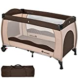 TecTake Baby Travel cot Bed playpan with Practical Carry Bag - Different Colours -