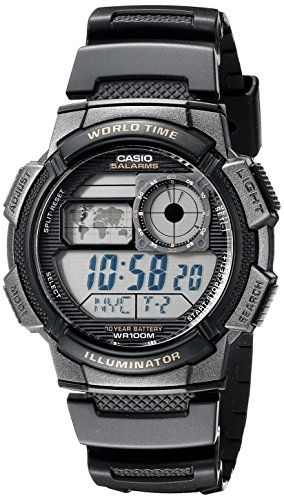 casio youth digital grey dial men's watch - ae-1000w-1avdf (d080) Casio Youth Digital Grey Dial Men's Watch – AE-1000W-1AVDF (D080) 51xGh3NwN4L