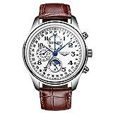 Generic GUANQIN GQ20022 Mondphase Kalender Automatische Mechanische Uhr