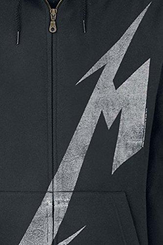 Metallica Shrouded Kapuzenjacke schwarz Schwarz