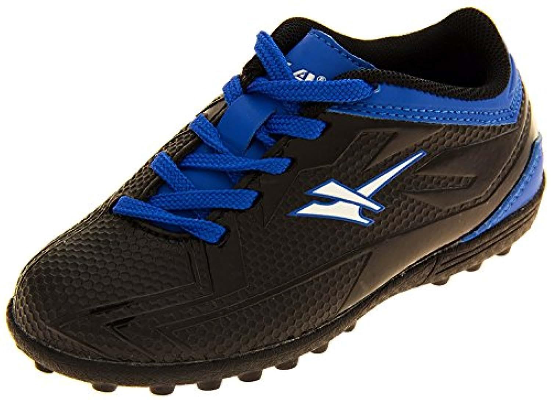 Gola Boys Activo5 Astroturf Football Boots Sports Trainers (1 UK, Black & Blue)
