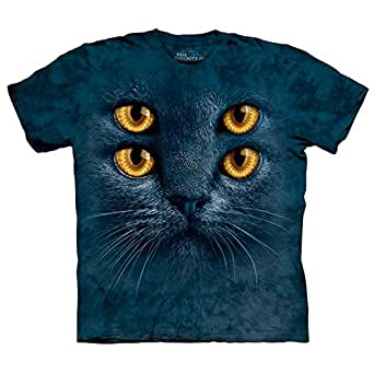The Mountain - - Big Face T-Shirt Four Eyes Hommes, 5X-Large, As Shown