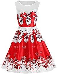 dc48529ac6845 RoseGal Women's Vintage Patchwork Flare Dress A-line Floral Party Dress  Plus Size Lace Panel