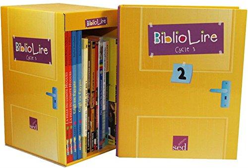 BiblioLire Cycle 3 Niveau 2 (CM1) : 12 romans pourla classe + fichier