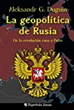 The geopolitics of Russia: From the Russian revolution to Putin