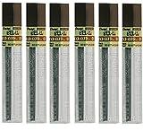 Pentel 0,3mm Taille B Abat-jour Dureté crayon recharge Remplacement de mines Hi Pollymer Super pour automatique et porte-mines (lot de 6Tubes–72pièces)