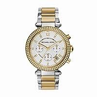 Michael Kors MK5626 - Reloj de cuarzo con correa de acero inoxidable para mujer, multicolor de MJC1U