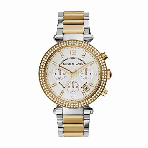 Michael Kors MK5626 - Reloj de cuarzo con correa de acero inoxidable para mujer , multicolor