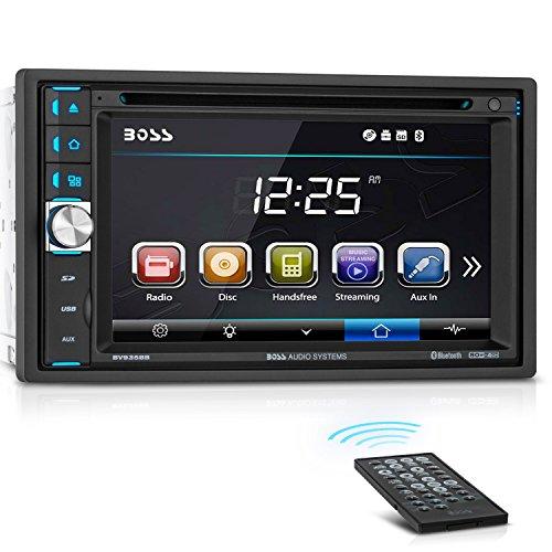 BOSS Audio bv9358b 6. 5,1cm Doppel 2Din-INDASH DVD/MP3/CD AM/FM Empfänger mit Bluetooth (R) (Boss Auto Dvd Doppel Din)