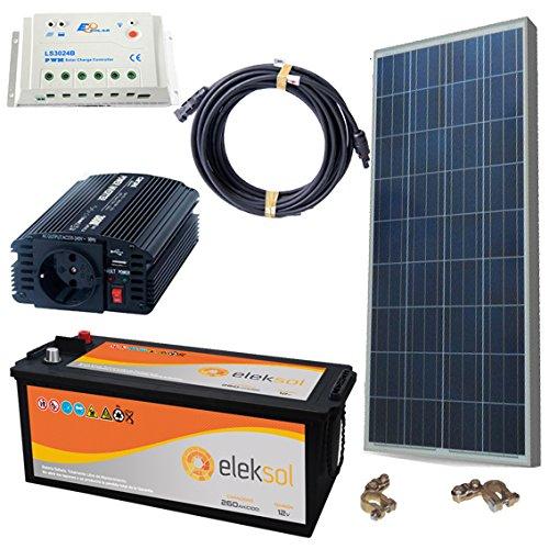El Kit solar fotovoltaico 500W es perfecto para un uso diario y de fin de semana de iluminación y electrodomésticos con energía solar(max 500W). Kits solares de aislada aptos para casas de fin de semana. Ahora tendrás la oportunidad de iluminar tu pe...