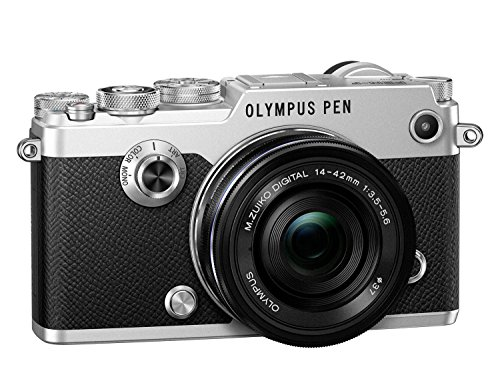 Best Price Olympus PEN F Camera – Silver (14 – 42 EZ Lens) Special