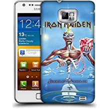 Official Iron Maiden SSOSS Album Covers Hard Back Case for Samsung Galaxy S2 II I9100