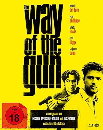 The Way of the Gun - Mediabook (+ DVD) (Cover A) [Blu-ray]