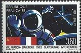 Prophila sellos para coleccionistas: Francia 2707 (completa.edición.) matasellado 1989 vuelo espacial