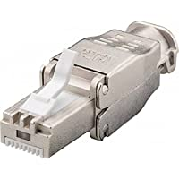 Conector RJ45CAT6a STP para Monobrin/de cable multihilos