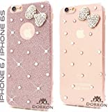 Best I Phone 6 Case For Girls - DORRON Bowknot Rhinestones Glitter TPU Back Cover Review