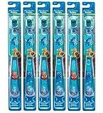 Spazzolino Oral-B Kids, Pro Health Stages Disney & Pixar Finding Dory per bambini da 5–7anni, morbido (confezione da 6)–personaggi assortiti