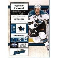 2010/11 Playoff Contenders Hockey Card # 36 Joe Thornton San Jose Sharks