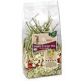 nanook Hansepet 5x Kaninchen-Futter Nahrungsergänzung, Gemüse, Leckerli, Veggie Energie-Mix, 5x250g