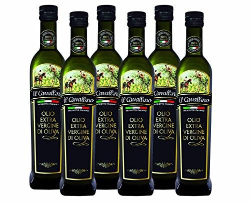 Olio Extra Vergine spremitura a Freddo cartone da 6 bottiglie Italia