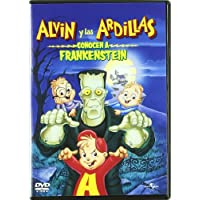 Alvin y las ardillas conocen a Frankestein