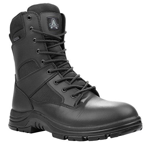 Amblers Combat Stiefel Unisex Herren Damen Nichtsicherheits Tactical Armee Black