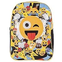 Emoji 1023AHV-6586 Emoji-41cm Large Backpack, Yellow/Black, 41 cm