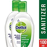 #10: Dettol Instant Hand Sanitizer - 50 ml (Pack of 2 at Rupees 99)