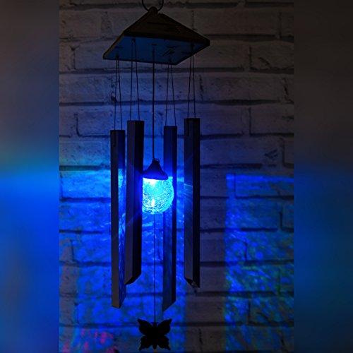 Farbwechselndes Solares Windspiele von SPV Lights: Der Solarlicht- & Beleuchtungsspezialist (2 Jahre kostenlose Gewährleistung inklusive)