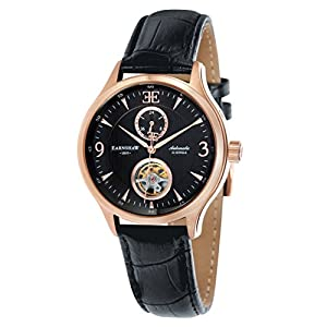 Thomas Earnshaw Thomas Earnshaw Flinders Watch for Men with Exposed Balance Wheel ES-8023-04 - Reloj de pulsera de Thomas Earnshaw