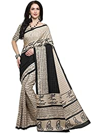 EthnicJunction Latest New Collection Of Designer Sarees 2018 - Kalamkari Palli Script Printed Khadi Silk Saree...