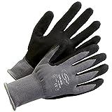 Präzisionshandschuhe Schutzhandschuh Handschuhe Kori-Nox grau-schwarz - Größe 8