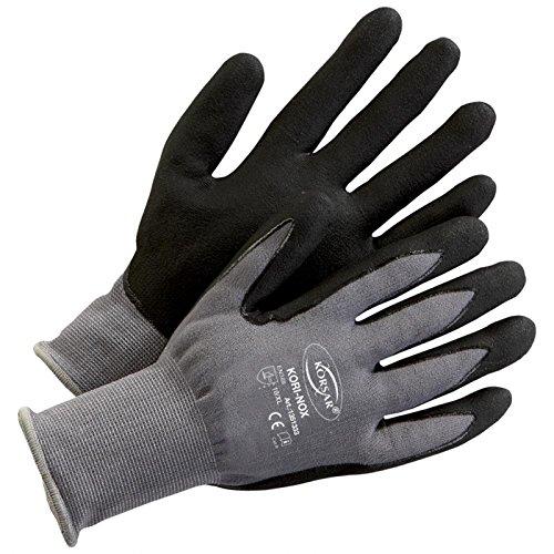 Präzisionshandschuhe Schutzhandschuh Handschuhe Kori-Nox grau-schwarz - Größe 10