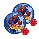 Disney DJH11121 Spiderman Plastic Catch Ball, Kid's (Red)