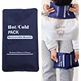 Reusable Hot / Cold Heat Gel Ice Non Toxic Pack Sports Muscle / Back Pain Relief
