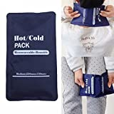 #1: Reusable Hot / Cold Heat Gel Ice Non Toxic Pack Sports Muscle / Back Pain Relief
