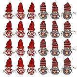 Gichtel Nordic · kabouterhanger · kerstdecoratie kabouter · kleine kabouters met gebreide muts · kabouterhanger · decoratieve figuren · kerstkabouter