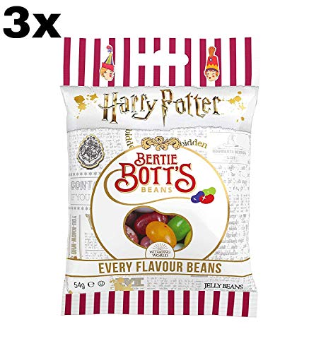 3pack x Jelly Belly Caramelos - 54 gr Bertie Botts de Harry Potter Gominolas Chuches Divertido juego
