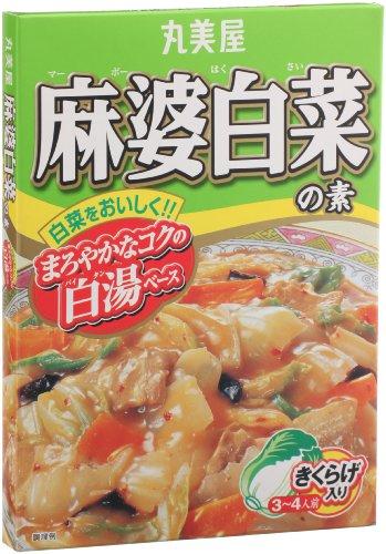 丸美屋 麻婆白菜の素 160g