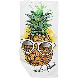 DIYthinker Gafas de Sol Tropical de la piña de la Fruta Toalla de baño Suave paño de Facecloth 35X70Cm