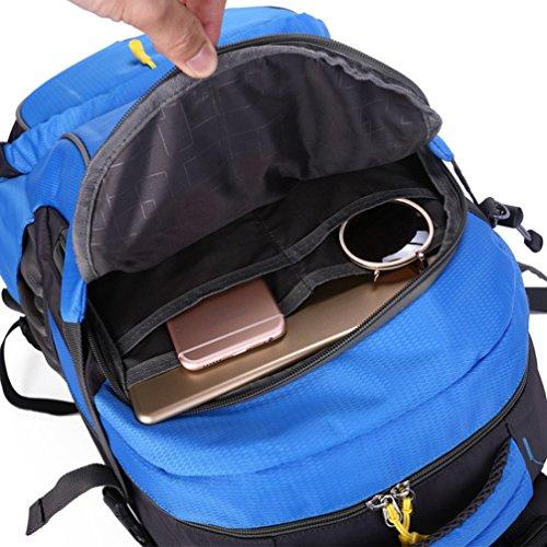 Keshi neuer Stil Damen accessories hohe Qualität Einfache Tasche Schultertasche Freizeitrucksack Tasche Rucksäcke Saphirblau