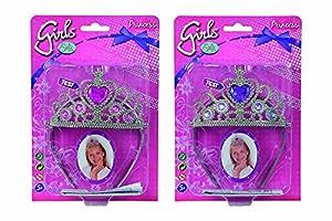 Simba 105560037-Steffi Love Girls Tiara Set, de 2Sort