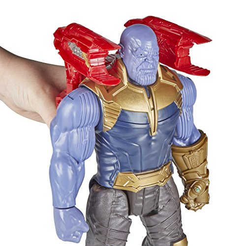 """12/"""" Avengers Infinity War Thanos Figure With Titan Hero Power FX Connection Port"""